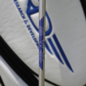 Penley ET2 Shaft behind golf bag