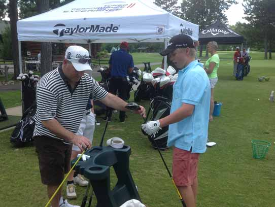 Demo Day at the St. Germain Golf Course