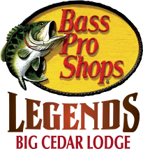 Penley Staffer and Golf Legend Tommy Jacobs participating in the Bass Pro Legends of Golf Tournament